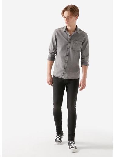 Mavi James Vintage Jean Pantolon Gri